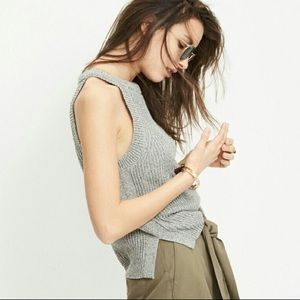 Madewell High Neck Sweater Tank